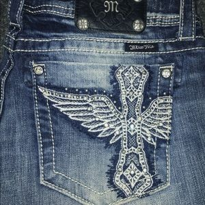 Miss Me sz31 inseam 34 bootcut jeans